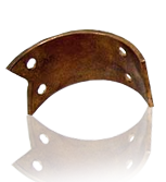 Copper contacts & drum barrel segments